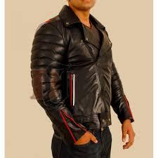 ryan gosling blue valentine black leather jacket men s black stylish jacket