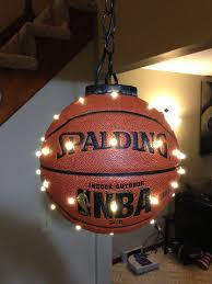 boys room lighting. hanging basketball led would be great for a sports room boys or lighting