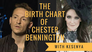 Chris Cornell Natal Chart The Birth Chart Of Chester Bennington