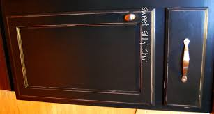 painting kitchen cabinets black distressed new in custom painted exitallergy com exquisite diy x with granite l