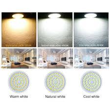 Mort Bay Lighting 4 6 10x Led Gu10 Light Bulbs 3w 5w 7w Spotlight Warm Cool White Lamp 3000 6000k