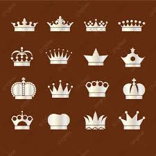 Silver Crown Designs Silver Crown Collection Flat Design Symbol Icon Png