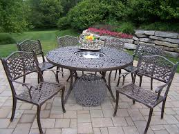 amazing of 60 inch round patio table urbana eclipse circular outdoor furniture 7 pc urbana sectional backyard remodel ideas
