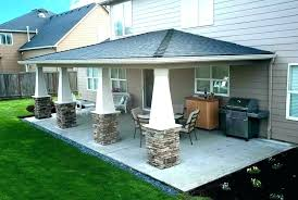 average cost of patio cover covered patio cost how to enclose front porch with windows much average cost of patio cover