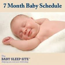 7 Month Old Baby Schedule Sample Schedules The Baby
