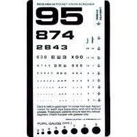 Snellen Pocket Eye Chart Eye Test