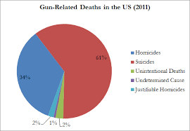 Some Pie Charts On Gun Deaths O Pie Oneers