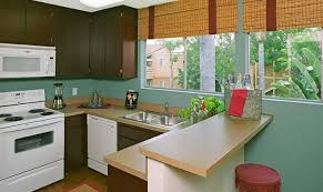 kitchen countertop and cabinet installation apartment remodel