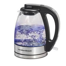 compact 1 liter glass kettle 40930