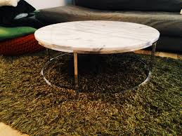 Cb2 Round Coffee Table Cb2 Smart Round Marble Top Coffee Table Http Wwwcb2com Smart