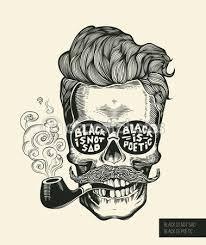 Hipster Drawings Calavera Art Tattoos Skull Art Illustration