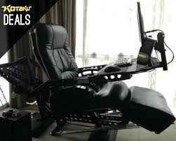 armchair computer desk enthralling for gaming modern design sumptuous ergonomic workstation with game chair and best