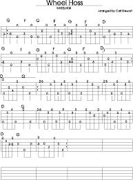 wagon wheel sheet music browse tabs by letter w banjo hangout