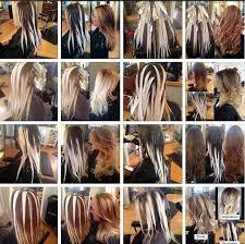 ombré color blonde bayalage hairbalayage
