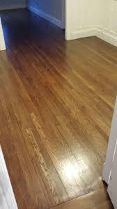 refinished hardwood floors with minwax special walnut floor stain