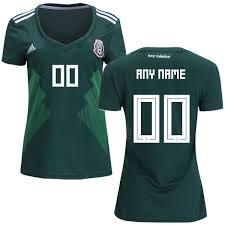 Short Cup Shirt 2018 Green Women's World Mexico Jersey