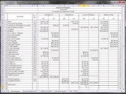 Accounting Worksheet Example Worksheet Tutorial