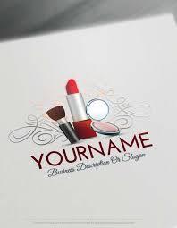 free logo creator makeup artist logo design