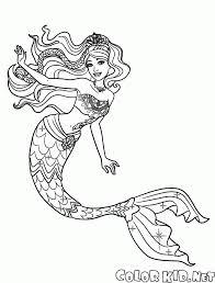 Disegni Da Colorare Principesse Sirene Img