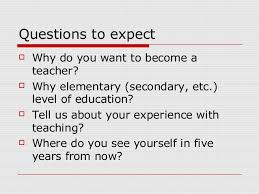 teacher interview tips