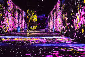 Tokyo Museum Of Light Mori Building Digital Art Museum A Multi Sensory Experience