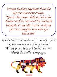 Where Did Dream Catchers Originate Rooh Wellness Dream Catcher by Rooh Wellness White Amazonin 33