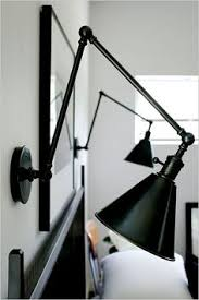id love to have wall mounted task lamps like this for the master bedroom bedside wall lighting