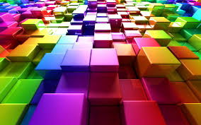 wallpapers hd 3d colorful. Unique Colorful Colorful Cubes Intended Wallpapers Hd 3d 3
