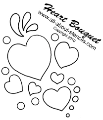 Quilting Stencil Patterns and Free Stenciling Patterns for Quilting & Heart Bouquest Stencil from www.all-about-stencils.com Adamdwight.com
