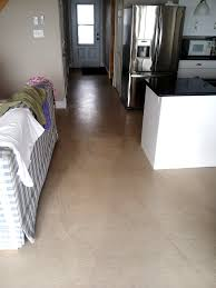 Epoxy Floor Kitchen Kitchen Concrete Flooring Duraamen Self Leveling Micro In Jersey