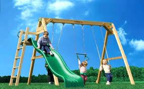 wooden swing sets best co indoor set for toddlers children s outdoor