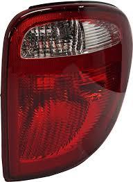 Dodge Grand Caravan Brake Lights Stay On Tail Light Assembly Compatible With 2004 2007 Dodge Grand Caravan Passenger Side