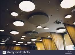 Groß Grau Elfenbein Sechsecke Mit Licht Im Inneren Ist An
