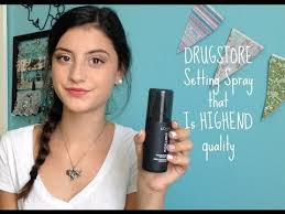 l oreal infallible makeup extender setting spray review demo
