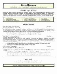 Resume Format For Insurance Sales Manager Inspirational