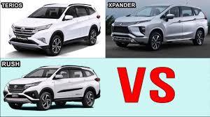 Mitsubishi XPANDER vs 2018 Toyota RUSH Vs 2018 Daihatsu TERIOS Car ...
