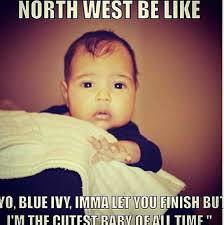 North West Blue Ivy via Relatably.com