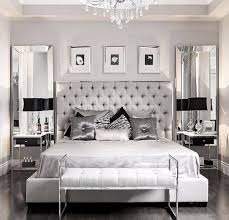 Sumptuous Bedroom Inspiration in Shades of Silver Master Bedroom Ideas
