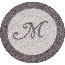 home designs round bathroom rugs evergreen and simple bath mat