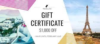 travel voucher template free indesign voucher template gift certificate template indesign