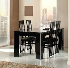 lacquer furniture modern. Dining Room Italian Modern Sets Elite Black Lacquer Table And Chairs World Map Furniture E