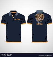 Blue Polo Shirt Design Color Men Polo Shirts Design Template