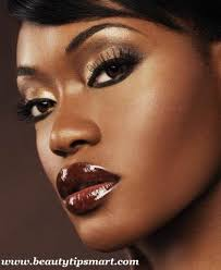 gallery for eye makeup for brown eyes dark skin