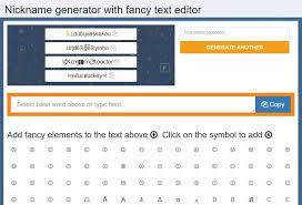best fancy text generators cool