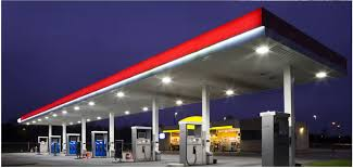 gas station lighting solutions