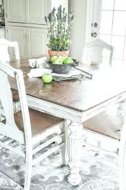 antique dining table and chairs large size of ii collection antique white round pedestal dining table