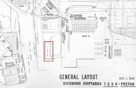 henry ford assembly line diagram. Plain Assembly GeneralLayoutRichmondShipyardsmed Richmond California U2013 Ford Assembly  Plant Surrounded By  And Henry Line Diagram E