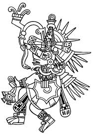 Small Picture Aztec Tlaloc Coloring Pages Bulk Color Coloring Home