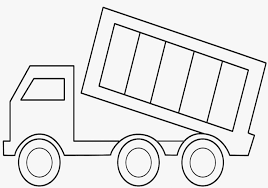 Coloring Pages Truck Colouring In Free Printable Dump Truck