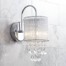 wall sconce lighting ideas bedroom wall sconce. Crystal Bathroom Sconce Lighting 61liq7yxvul Sl1000 Possini Euro Silver Line Restoration Hardware Sconces Led Medium Wall Ideas Bedroom
